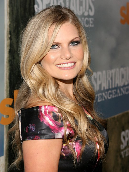 "Bonnie Sveen attends the Starz Original Series ""Spartacus: Vengeance"" Premiere Event at ArcLight Cinemas Cinerama Dome on January 18, 2012 in Hollywood, California."