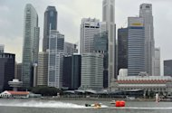 File picture of the Singapore skyline. Singapore police said they needed hard evidence to crack down on match-fixing cartels, after coming under pressure to arrest suspected ringleaders of networks which targeted hundreds of football games in Europe and beyond