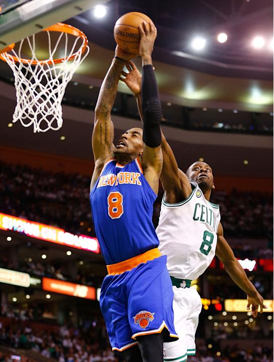 New York Knicks v Boston Celtics - Game Three