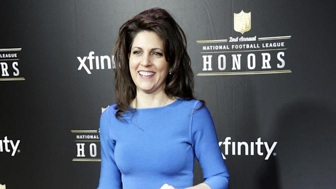 Rita Benson Leblanc Vice Chairman of the Board of the New Orleans Saints arrives at the 2nd Annual NFL Honors, on Saturday, Feb. 2. 2013 in New Orleans (Photo by Dario Cantatore/Invision/AP)
