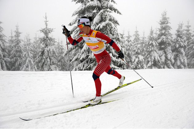 Norway's Marit Bjoergen Competes AFP/Getty Images