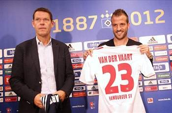 I am not Hamburg's saviour, says Rafael van der Vaart