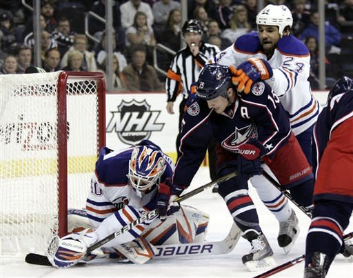 Blue Jackets rally from 2 goals down, beat Oilers
