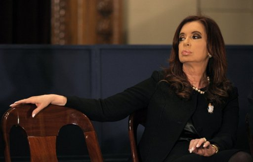 <p>Argentina's President Cristina Kirchner (pictured in August) will visit the United States later this month to inaugurate a forum for Argentine studies at Georgetown University, according to an official.</p>