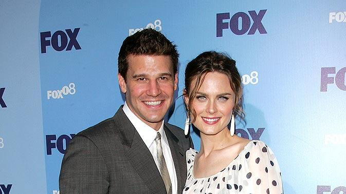 Boreanaz Deschanel FOX Upfrnts