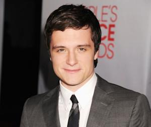 Josh Hutcherson arrives at the 2012 People's Choice Awards at Nokia Theatre L.A. Live in Los Angeles on January 11, 2012 -- Getty Premium