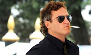 A too-cool-for-school Joaquin Phoenix makes the P.R. rounds for The Master at the Venice Film Festival on Sept. 1.