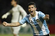 Argentina 4-0 Ecuador: Birthday boy Aguero on target as Albiceleste march to the top of the table