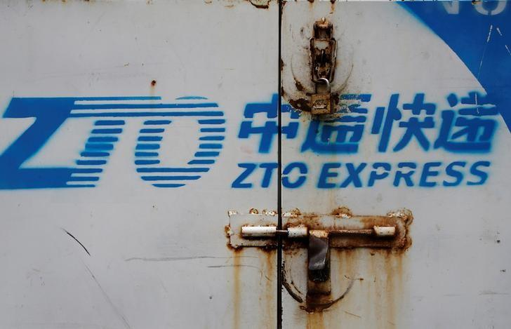 China courier ZTO delivers year's biggest U.S. IPO