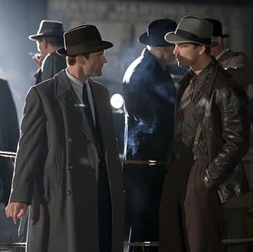 Aaron Eckhart and Josh Hartnett in Universal Pictures' The Black Dahlia