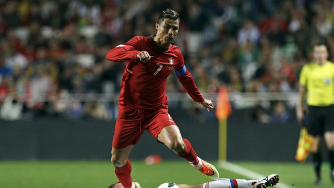 Portugal's Ronaldo unfit for friendly vs. Mexico