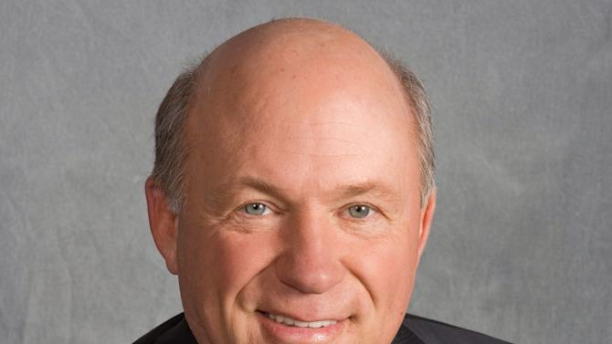 In this undated photo provided by Chick-fil-A shows company president Dan Cathy.  It is not entirely clear wether Chick-fil-a has definitely ended its financial support for groups that oppose same-sex unions. But a statement issued by the company Wednesday, Sept. 20, 2012, just months after its chief spoke against gay marriage, indicates it now plans to keep its distance from the more controversial views held by its Southern Baptist owners.  (AP Photo/Chick-fil-A, Stanley Leary                 )