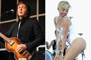 Paul McCartney Defends Miley Cyrus: 'What's Everyone Shouting About?'