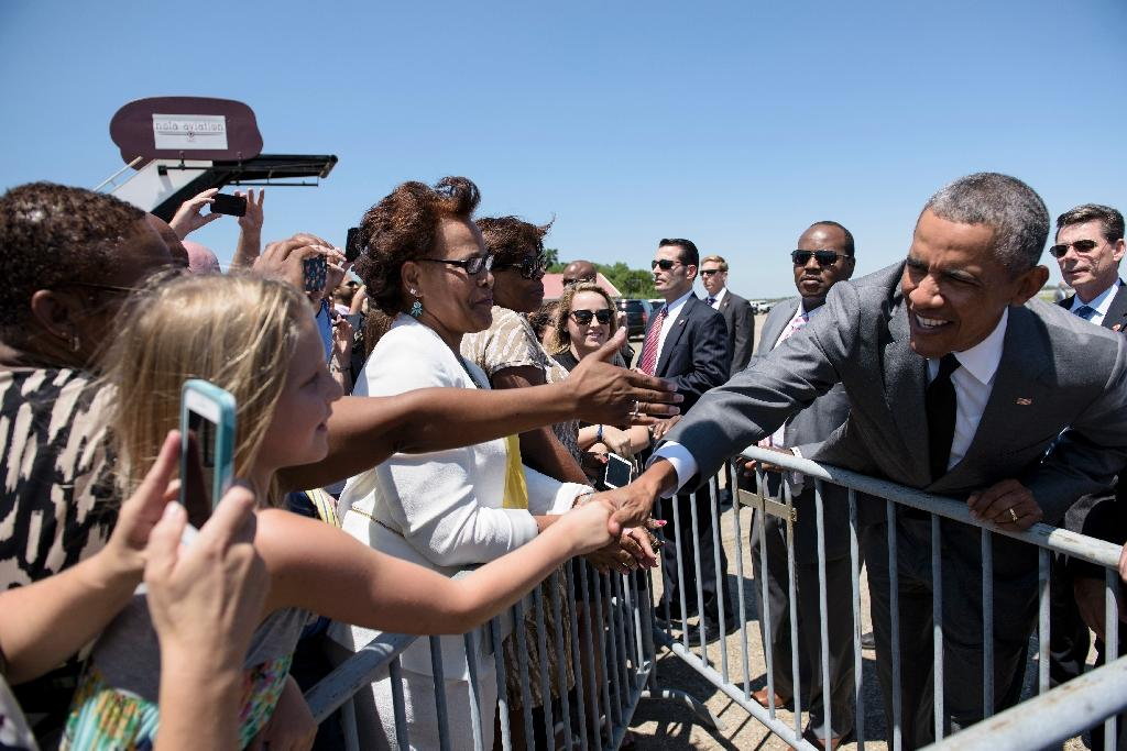 Obama marks rebirth of New Orleans, 10 years after Katrina