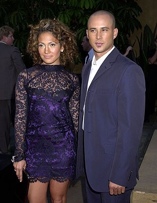 Premiere: Jennifer Lopez and Cris Judd at the Hollywood premiere of Warner Brothers' Angel Eyes - 5/15/2001