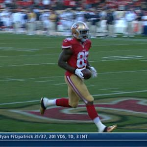 San Francisco 49ers tight end Vernon Davis' leap day