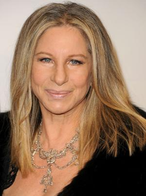 Joel Silver Romances Barbra Streisand Backstage at Barclay's Center