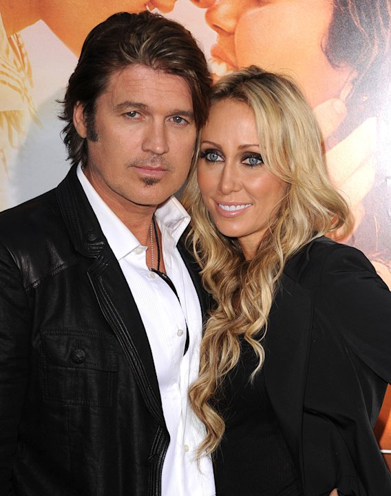 The Last Song LA Premiere 2010 Billy Ray Cyrus Tish Cyrus