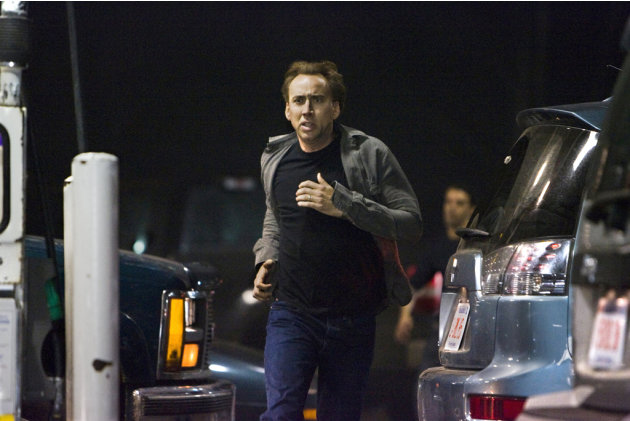 Nicolas Cage Knowing Production Stills Summit 2009