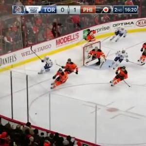 Steve Mason Save on Nazem Kadri (03:41/2nd)
