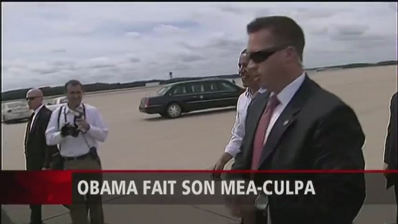 Obama fait son mea-culpa