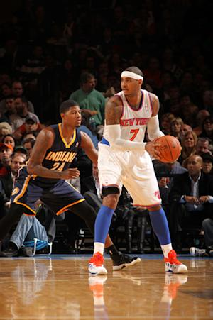 Knicks bounce back from 1st loss, beat Pacers