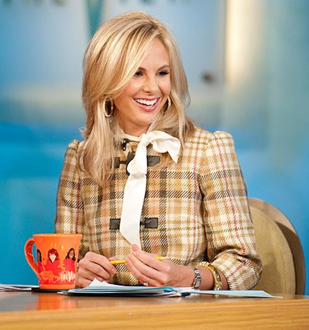 "Elisabeth Hasselbeck, co-host of ABC's ""The View."""