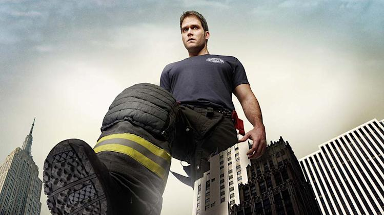 "Steven Pasquale stars as Sean Garrity in ""Rescue Me."""