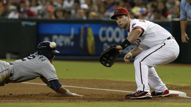 D-backs strike early in 10-0 win over Padres