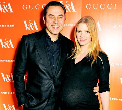 Lara Stone, David Walliams Welcome Baby