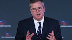 gty jeb bush kb 130614 wblog Jeb Bush Adds Immigrants Are More Fertile to Reform Debate