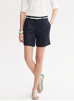 Banana Republic Pleat-Front Short, $44.50