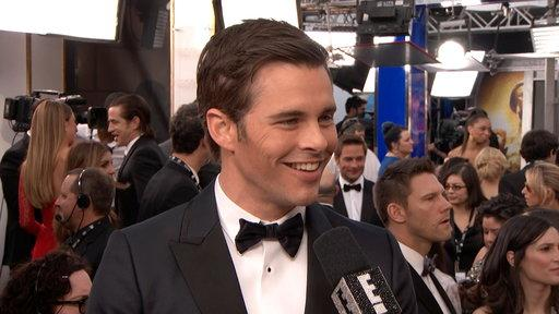 James Marsden's Ready to Get Rowdy
