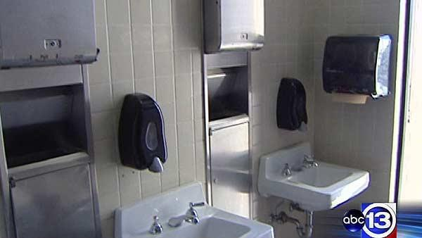Student grabbed by stranger in bathroom