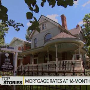 U.S. 30-Year Mortgage Rate Falls to 16-Month Low