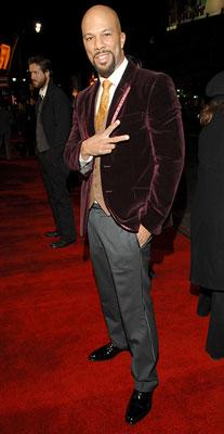 Common at the Hollywood premiere of Universal Pictures' Smokin' Aces