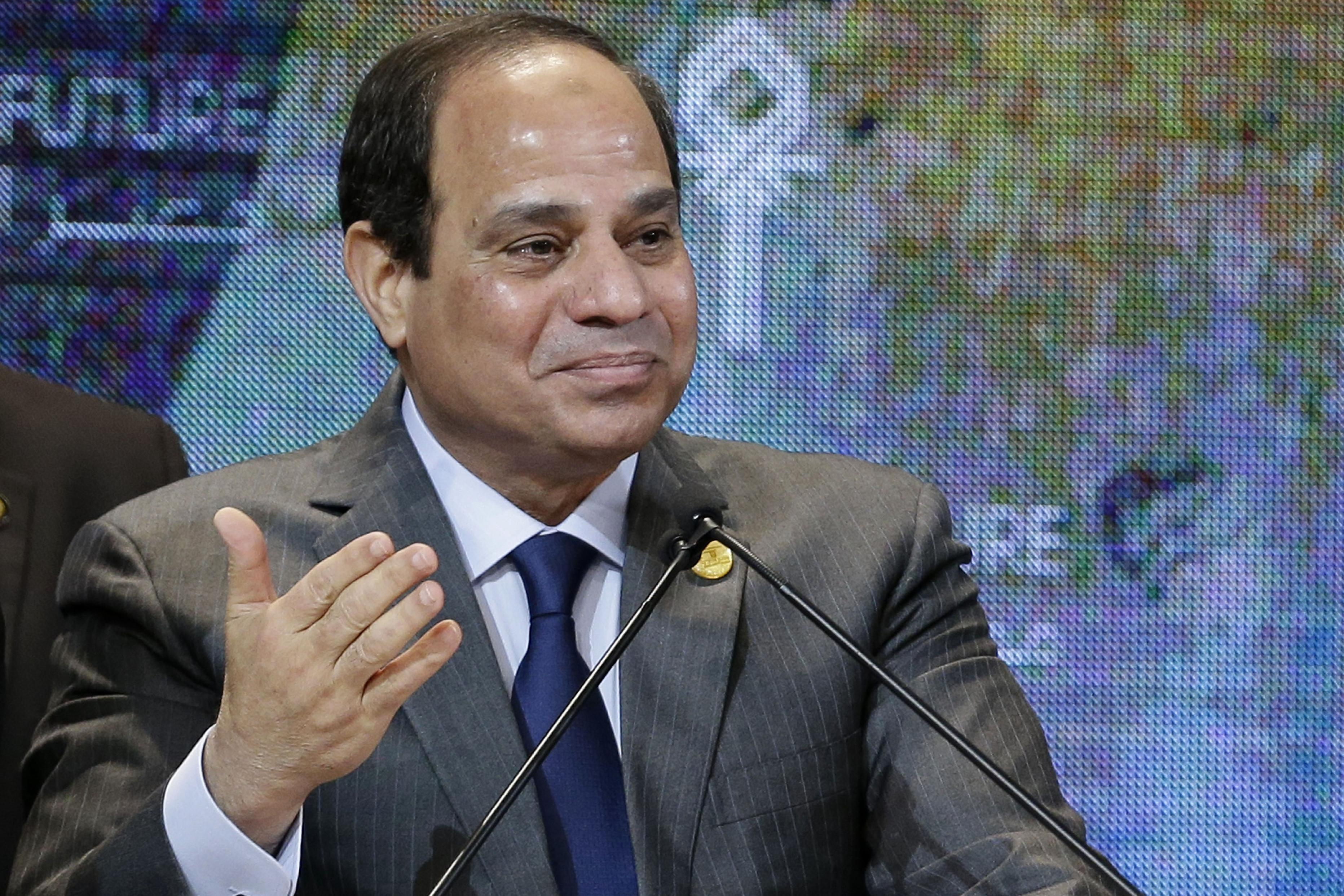 Egypt's el-Sissi heads to Germany, seeking Western support