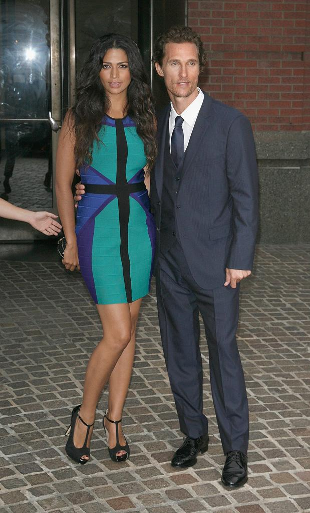 Killer Joe NY Screening 2012, Camilla Alves, Matthew McConaughey