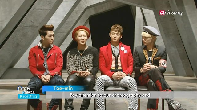 Pops in Seoul : SHINee (Why So Serious?)