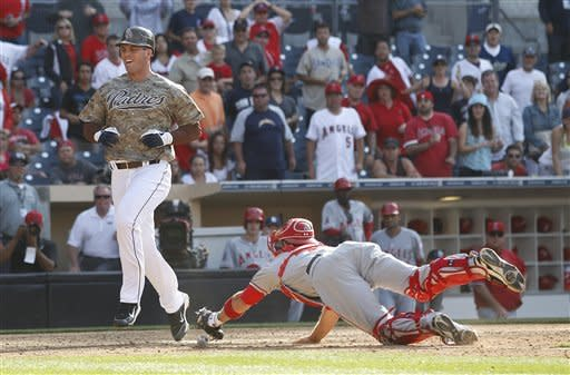 Padres beat Angels 3-2 in 13 innings