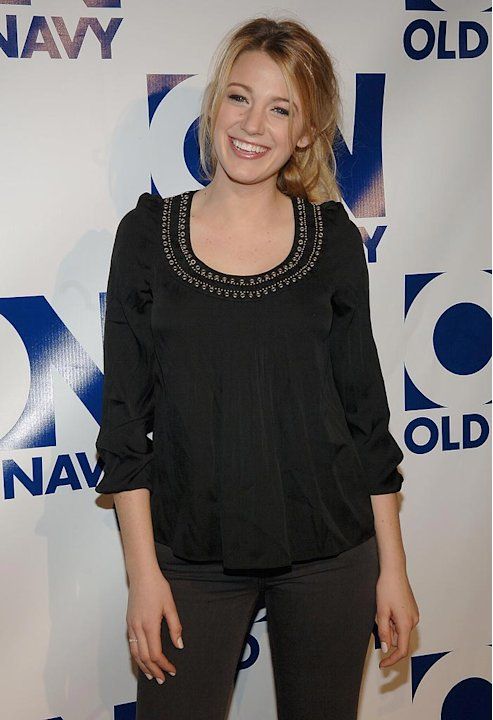 "Blake Lively attends The Old Navy Celebrates ""New Year, New Old Navy"" event at the Eyebeam Atelier in New York. - January 30, 2008"