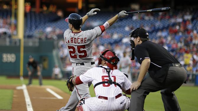 Zimmermann leads Nats past Phillies for 16th win