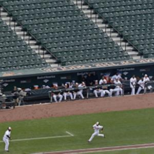 Camden Yards Empty As Orioles Face White Sox