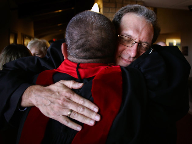 Anderson became the …more first openly gay person to be ordained to the ...