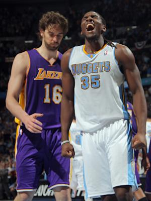 Lawson scores 25 as Nuggets beat Lakers 99-84