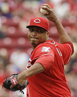 Frazier homers, Reds beat Dodgers 4-1