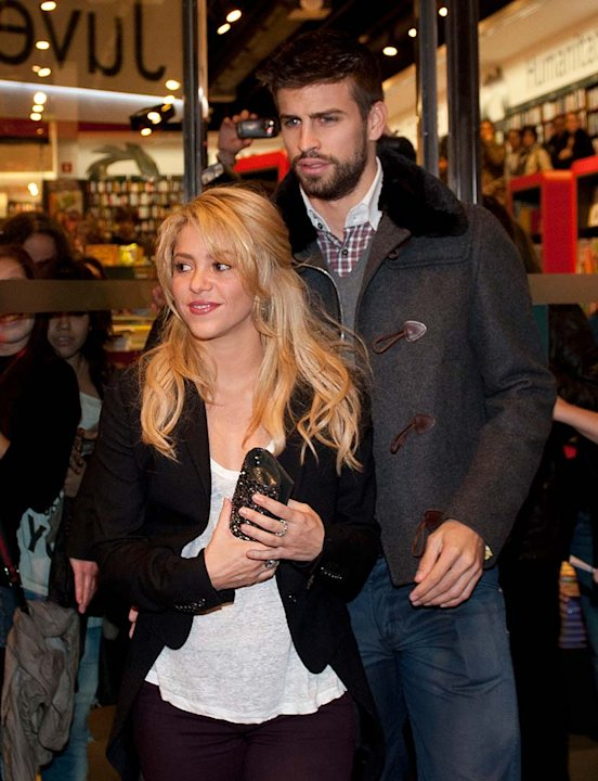 Shakira Gerard Pique Barcelona