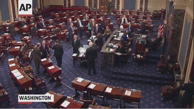 Senate Passes Fiscal Cliff Deal, 89-8