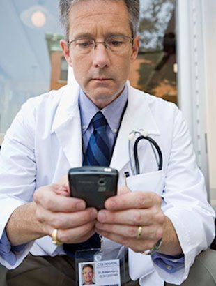 Keep it short and simple if you text with your doc.