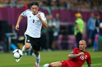 La Liga champion and Germany's creative engine, so why has Ozil underperfomed at Euro 2012?